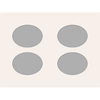 Ovale Ausschnitte 30x40 cm