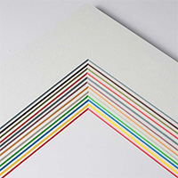 Passepartout mit eigenem Ausschnitt -  ColorCore 1,7 mm