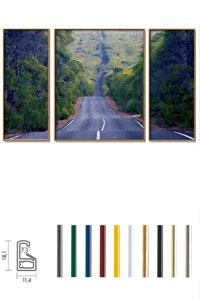 "Triptychon Bilderrahmen-Set Kunststoffrahmen ""ART"""
