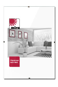cliprahmen rahmenlose bildhalter bilderrahmen ohne. Black Bedroom Furniture Sets. Home Design Ideas