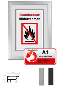 "Klassifizierter Standard A1 Brandschutzrahmen ""Econ breit"""