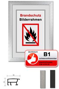 Zertifizierter Standard B1 Brandschutzrahmen