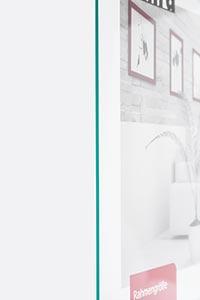 Antireflexglas-Zuschnitt - Entspiegeltes Glas für Bilderrahmen