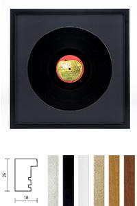 """Holzrahmen """"Figari"""" für Vinyl-Schallplatten"""