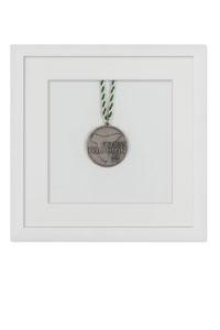 Medaillenrahmen 20x20 cm, wei�