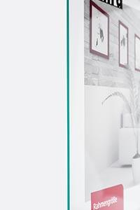 Normalglas - Ersatzglas für Bilderrahmen