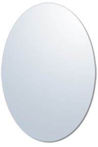 Ovales Ersatzglas f�r Bilderrahmen