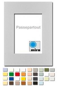 Passepartout mit individuellem Ausschnitt