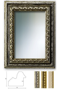Spiegelrahmen Orsay Ma�anfertigung
