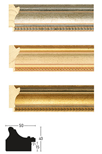 Holzrahmen Sonderzuschnitt, Decoutif 38