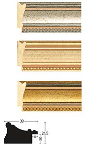 Holzrahmen Sonderzuschnitt, Decoutif 50