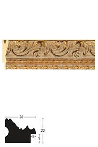 Holzrahmen Sonderzuschnitt, Barock 26