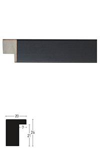 Holzrahmen Sonderzuschnitt, Blackwoods 20x26