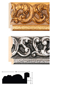 Holzrahmen Sonderzuschnitt, Anemona 108
