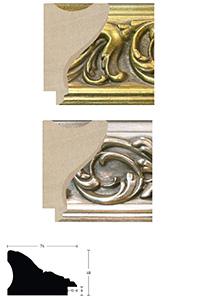 Holzrahmen Sonderzuschnitt, Cornucopia 74