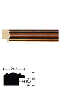 Holzrahmen Portico 25