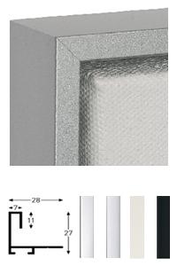 Schattenfugenrahmen Sonderzuschnitt, Profil 271