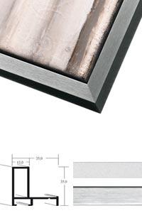 Schattenfugenrahmen Sonderzuschnitt, Profil 28