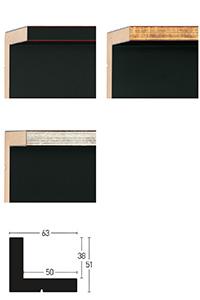Schattenfugenrahmen Metropolitan Floater 61 x 51