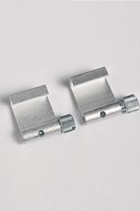 2 St�ck Aluminium-Bilderhaken