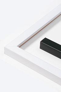 Holzrahmen Matrix B&W 20x20