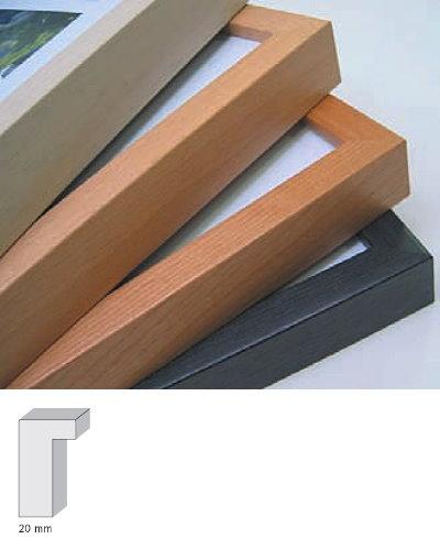 spagl holz bilderrahmen sirius 10x15 ahorn massivholz natur lasiert. Black Bedroom Furniture Sets. Home Design Ideas