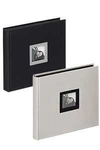 """Buchalbum """"Black & White"""" zum Einkleben, 26x25 cm"""