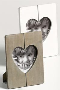 Fotorahmen Cuore mit Herzausschnitt