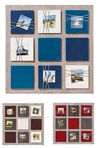 """Galerierahmen """"La Casa"""" für 6 Fotos"""