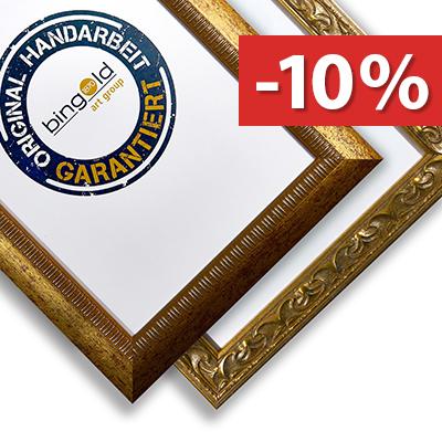 10% Rabatt auf Bingold Bilderrahmen