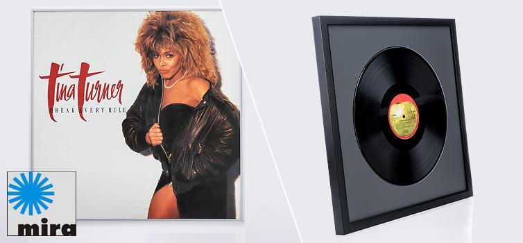 Bilderrahmen f�r Vinyl-Schallplatten